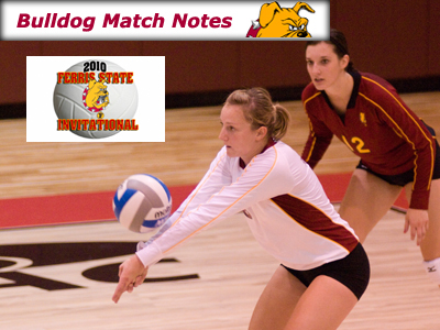 Women's Volleyball Weekly Notes (Matches 1-4)
