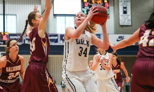 Three Hit Double Figures, as Eagles Close Out Regular Season with 69-49 Win at Penn State-Harrisburg