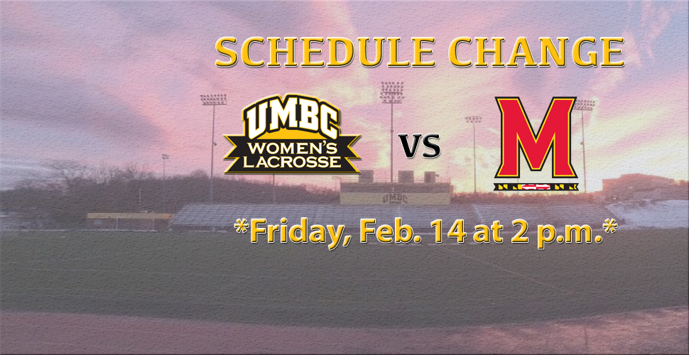 Women's Lacrosse Versus No. 2 Maryland Moved to 2 p.m. on Friday
