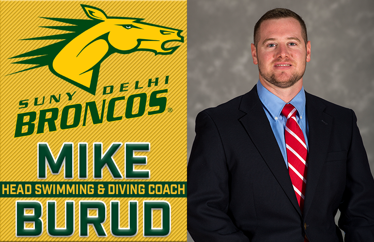 Mike Burud Hired Swimming & Diving Head Coach