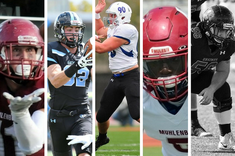 Preseason All-Americans: Ryan Curtiss, Muhlenberg; Luke McFadden, Johns Hopkins; Joe Granahan, Franklin & Marshall; Nate Corvil, Muhlenberg; Brett Highland, Ursinus