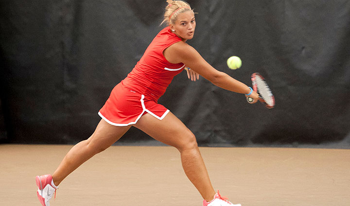 Women's Tennis Suffers First Loss Of The Season To Conclude Weekend Trip