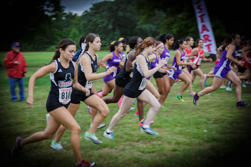 CROSS COUNTRY TRAVELS TO PRINCETON INVITATIONAL