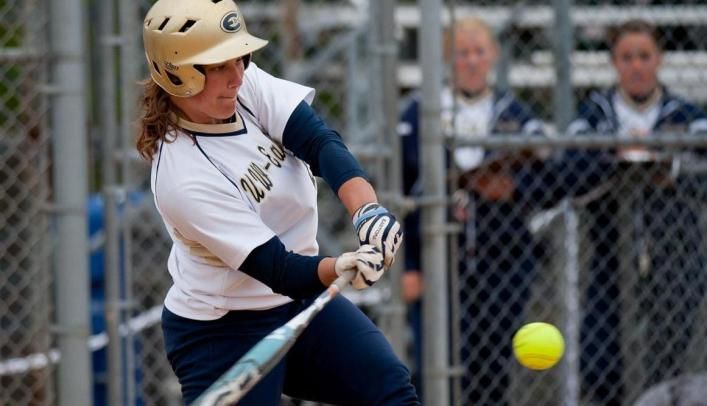 Fischer Hits Two Homers to Help Spark Softball to Two Wins