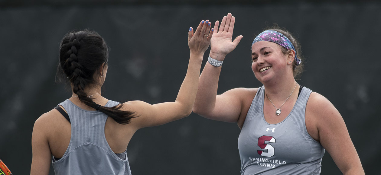 Women's Tennis Eases By Emerson, 8-1