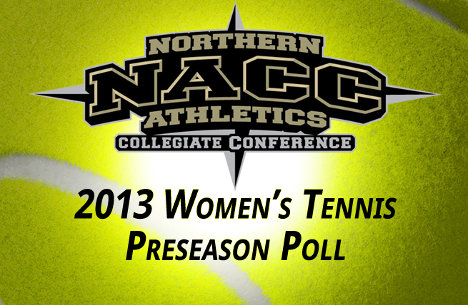 Women's Tennis Picked Fifth in NACC Preseason Poll
