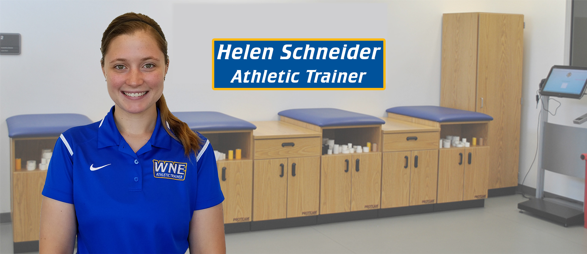 Helen Schneider Joins Sports Medicine Staff at Western New England