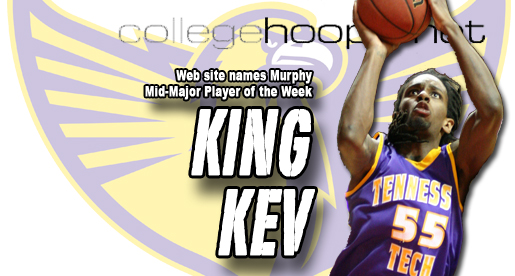 Murphy named Mid-Major Player of the Week by CollegeHoops.net