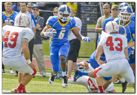 Lions' football team posts 55-24 win at Anderson University