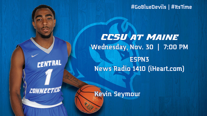 Men's Basketball Travels to Maine Wednesday