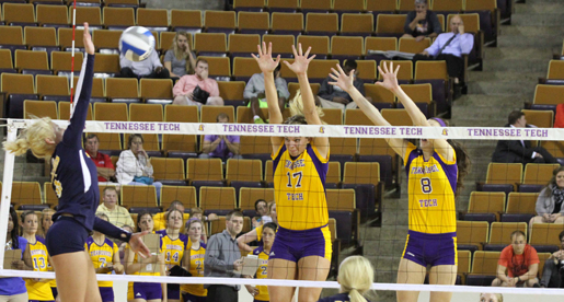 Golden Eagle volleyball team to host Tennessee State and Belmont