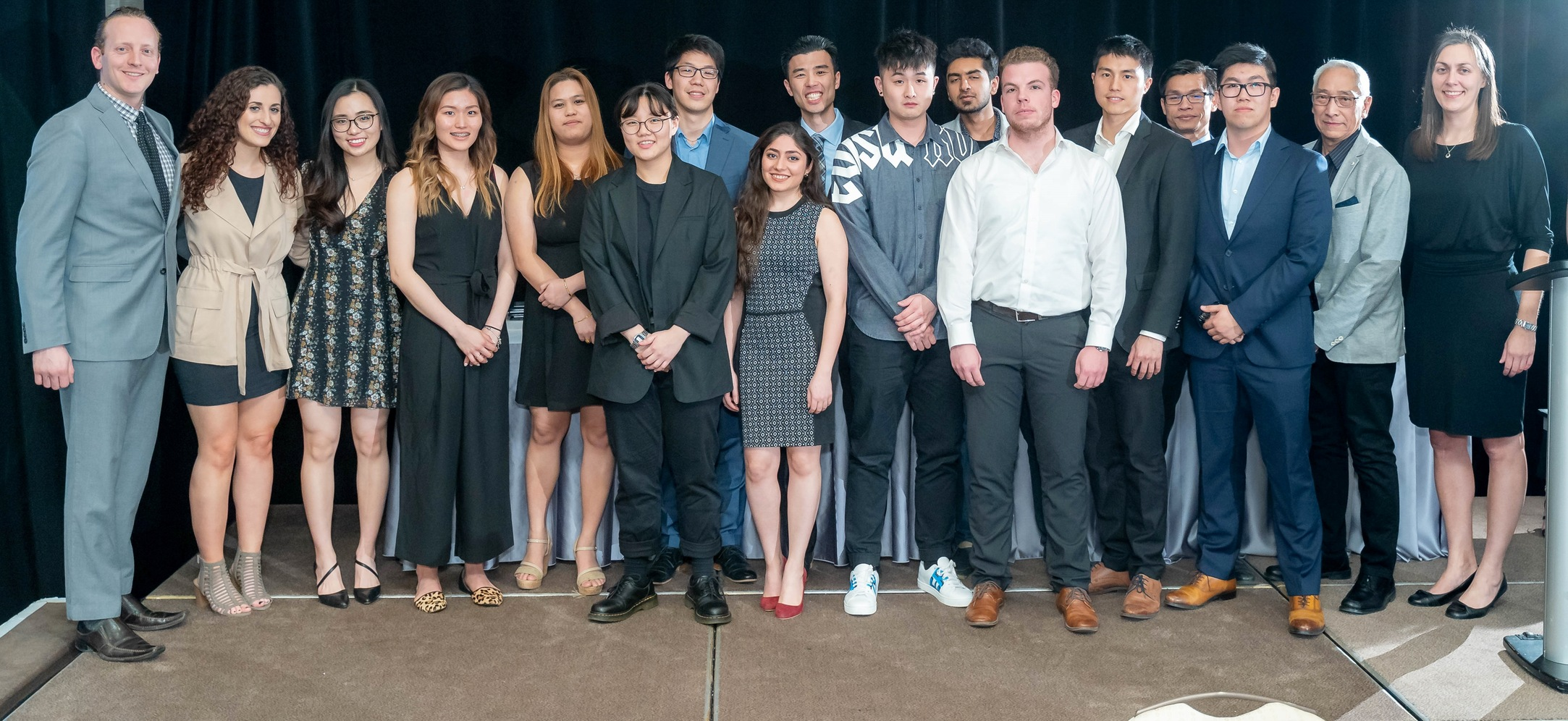 GEORGE BROWN ATHLETICS AND RECREATION CELEBRATES A FANTASTIC SEASON AT THE 50TH ANNUAL ATHLETIC AWARDS BANQUET