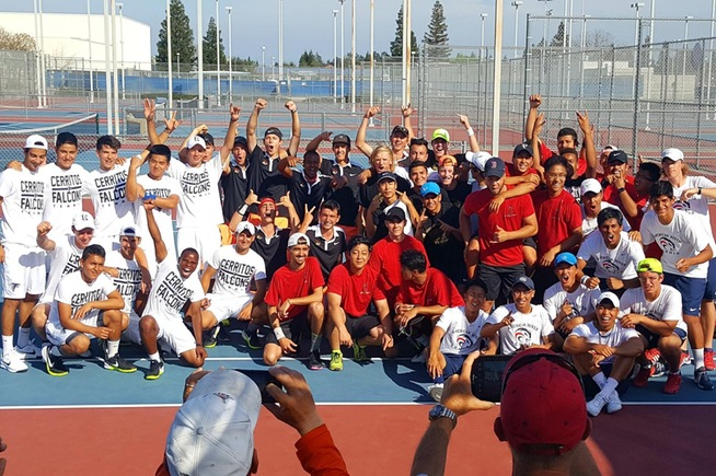 Cerritos dominated the North/South Tournament with three wins