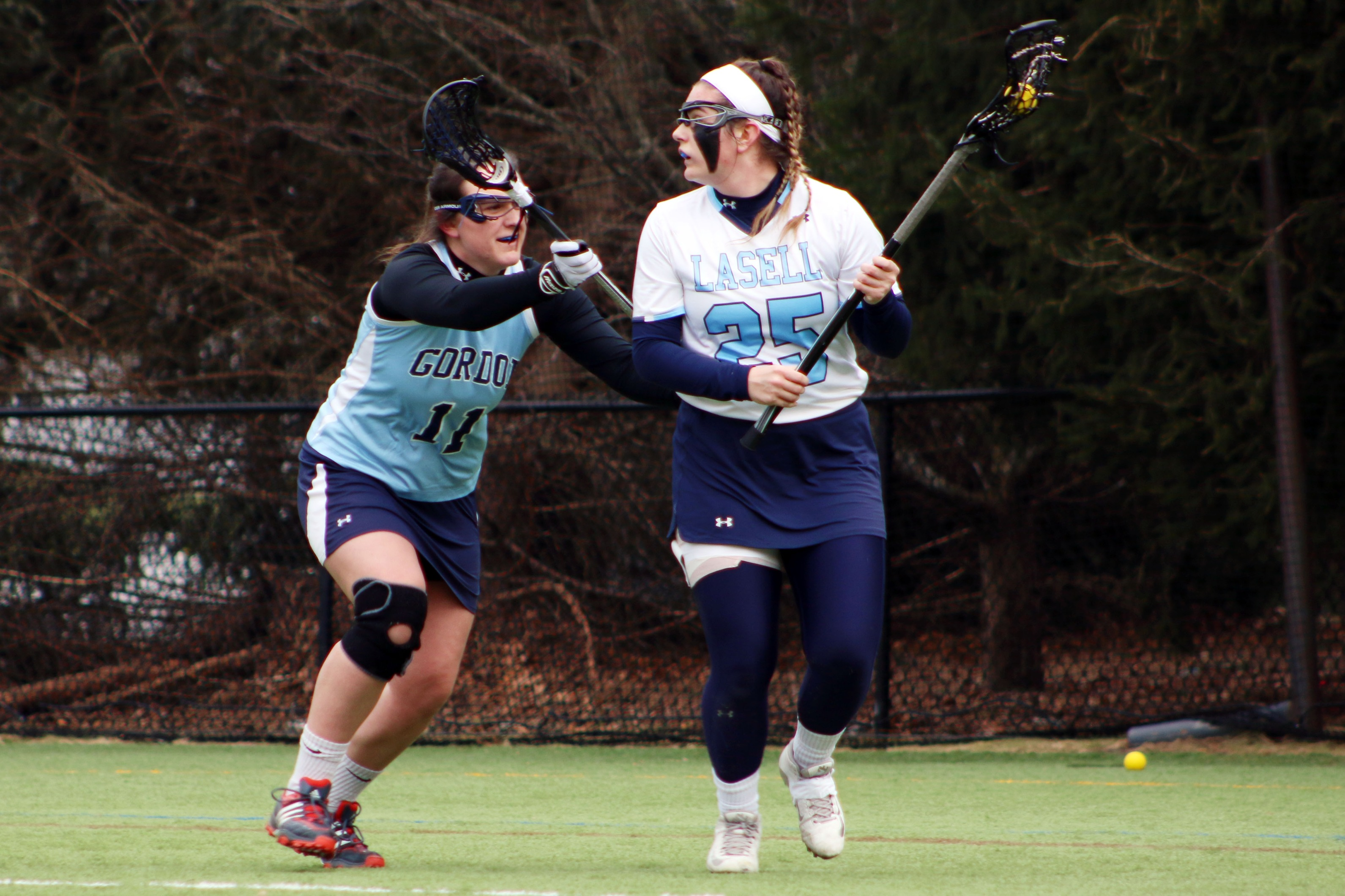 Lasell Women's Lacrosse holds off Gordon