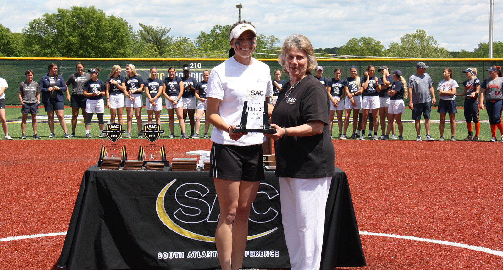 Grant Earns South Atlantic Conference Softball Elite 20 Award