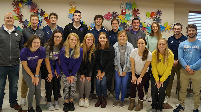 SAAC Makes Second Annual Visit To The Hope Lodge