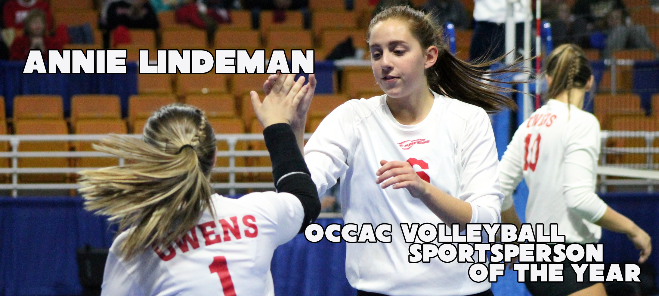 Lindeman, Frost, Bennett Awarded For Sportsmanship By OCCAC