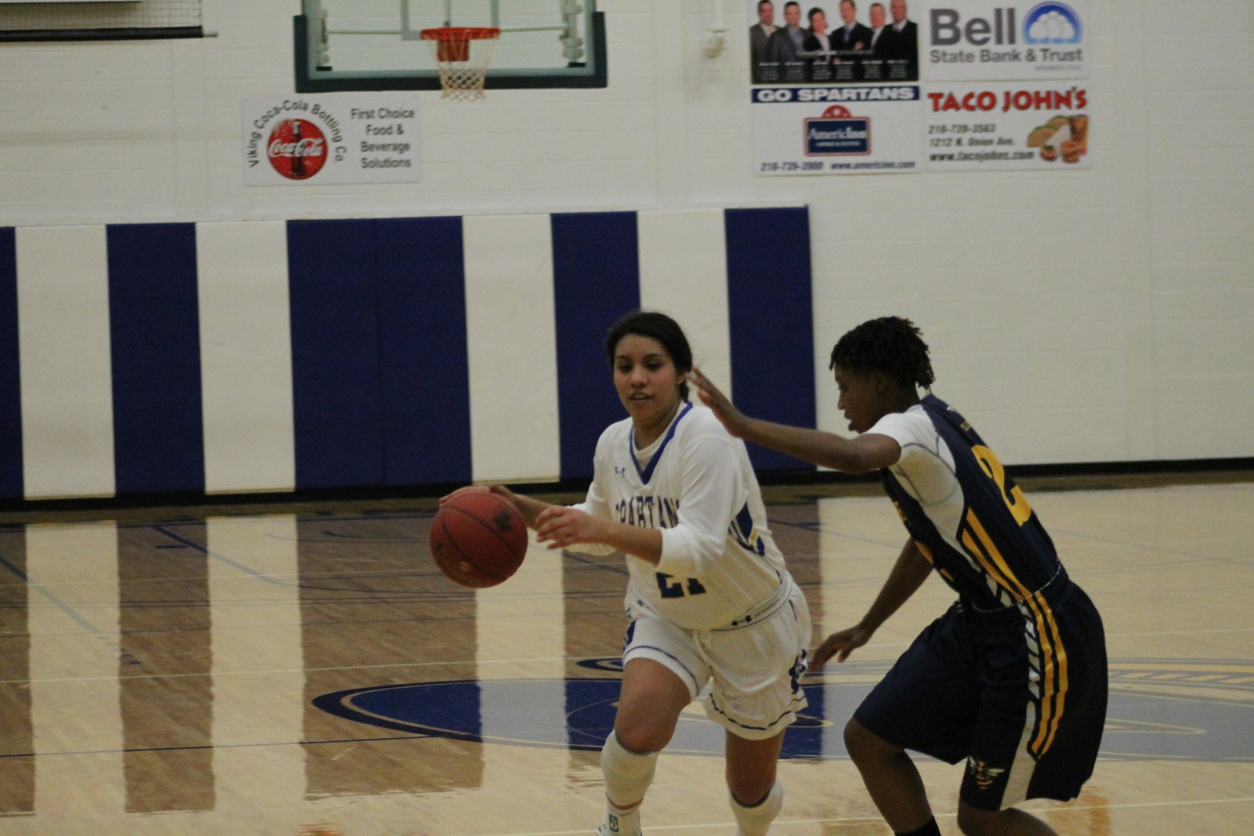 Lady Spartans Win Big Over Blue Devils