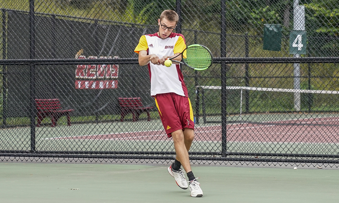 Men's Tennis Drops Match to Emerson