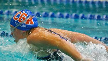Women's Swimming and Diving 3rd at Union Relays