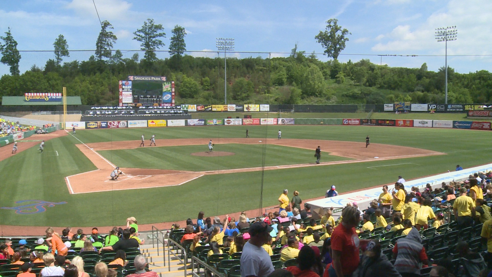 C-N SAAC teams up with Smokies for Carson-Newman night at Smokies Park