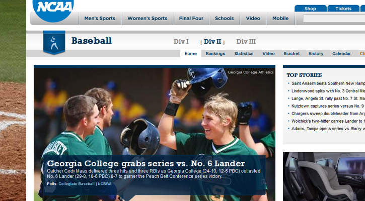 Bobcat Baseball Featured on NCAA.com