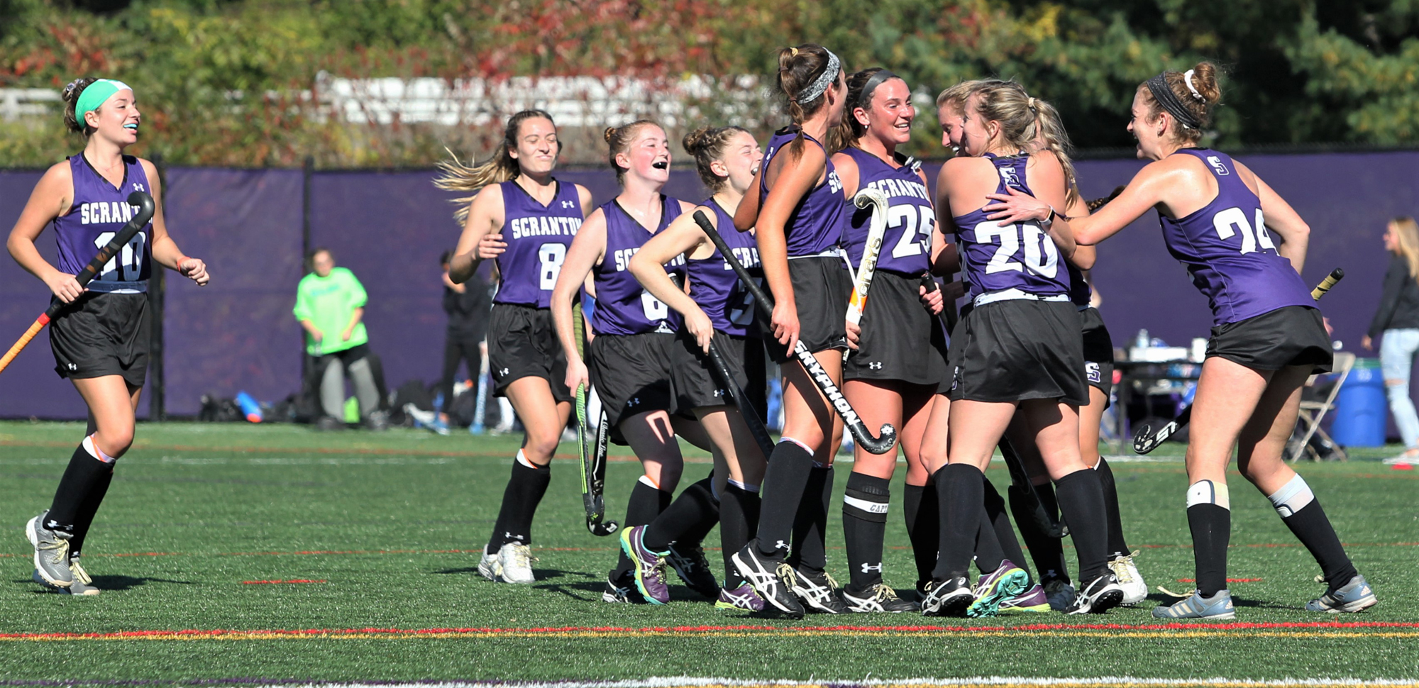 The University of Scranton field hockey team will host MIT in an NCAA First Round Game on Wednesday afternoon at Weiss Field at 3 p.m. © Photo by Timothy R. Dougherty / doubleeaglephotography.com