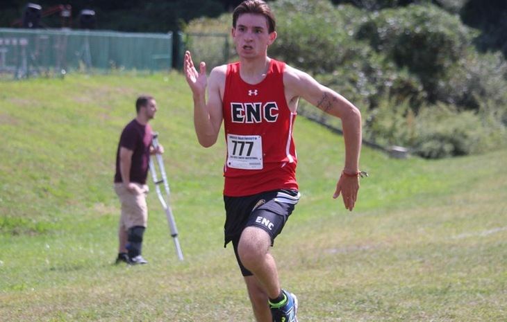 Men's Cross Country Finishes 15th at Suffolk Invitational