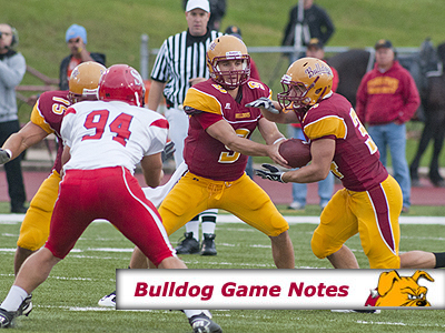 Football Game Notes: SVSU (Sept. 10)