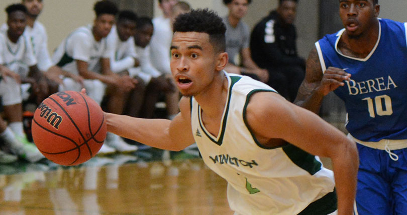 Three in double figures in @DubC_MensHoops win