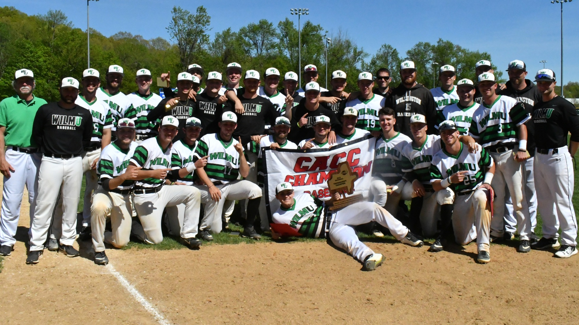 Wilmington Downs Dominican 14-8 to Claim Second-Straight CACC Baseball Championship