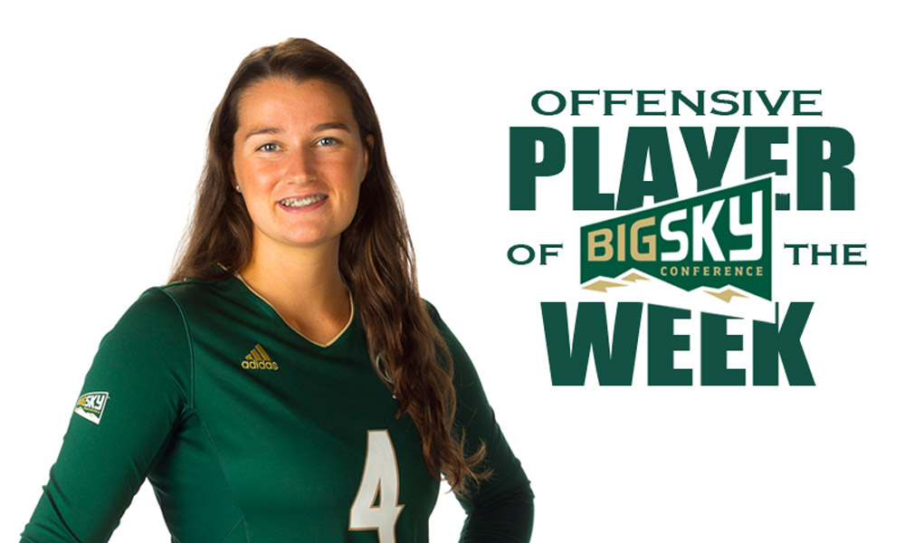 NOCETTI NAMED THE BIG SKY OFFENSIVE PLAYER OF THE WEEK