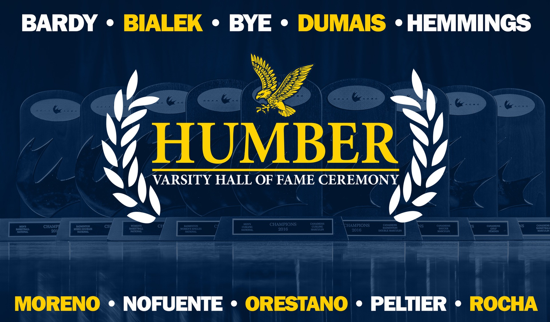 HUMBER ATHLETICS HALL OF FAME | CLASS OF 2018