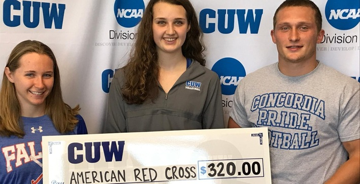 Athletic Department donates to help American Red Cross hurricane victims