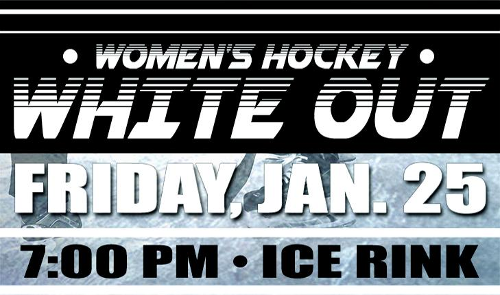 Wear White For Women's Hockey