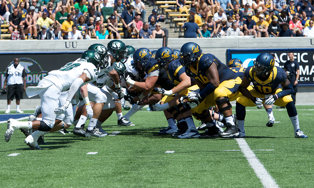 FIVE FACTS FOR FOOTBALL AT CAL
