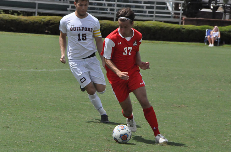 Men's Soccer: Guilford edges Panthers 2-1 in overtime