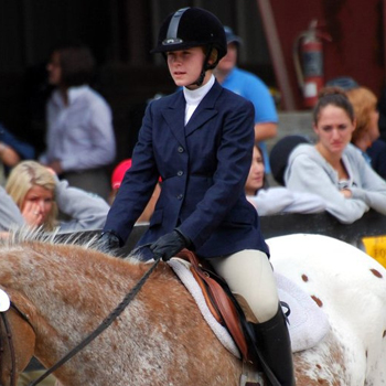 Pittman Leads Riding to High Point Title at UMass