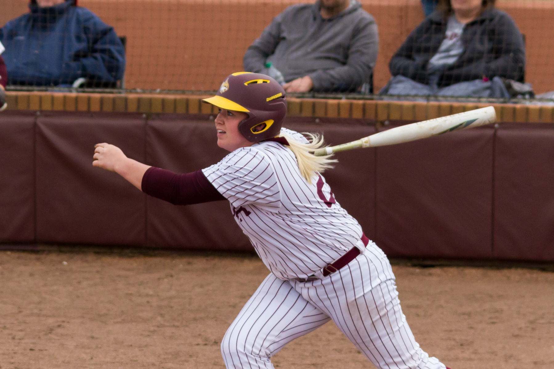 Lady Wildcats find bats, split doubleheader against Holmes