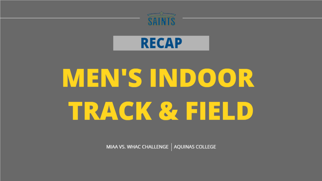 Saints Use Seven Event Wins To Round Out WHAC vs. MIAA Challenge at Aquinas