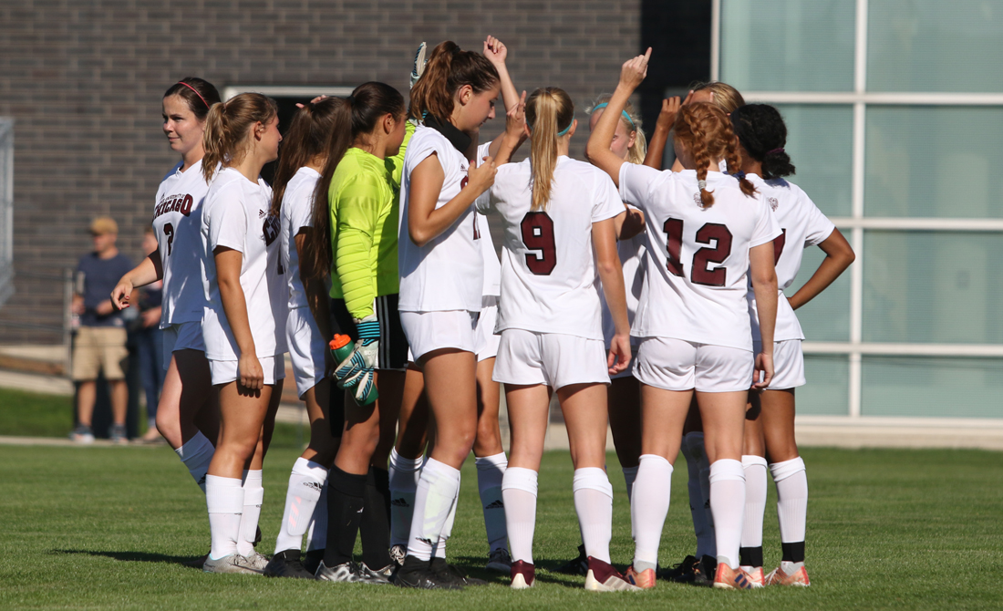 Maroon Women's Soccer Gives Out 2018 Team Awards at Annual Banquet