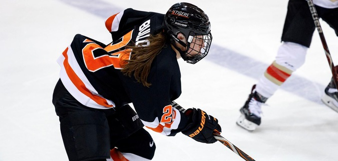 Bullock Nets Four Goals in Princeton's Win Over Yale