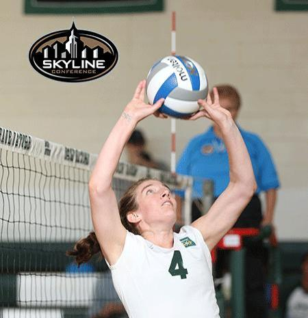 Liebig saluted as Skyline Volleyball Player of the Week