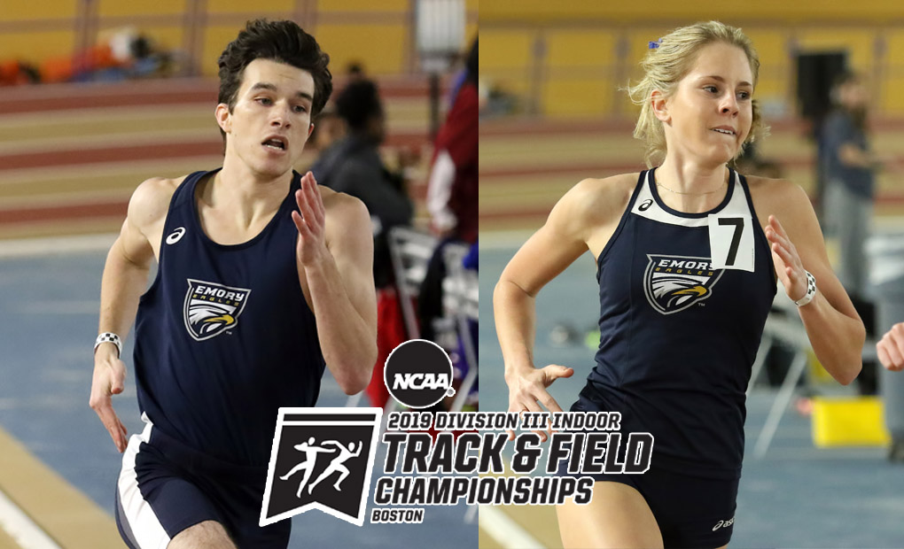 Five from Emory Track & Field Selected to NCAA Indoor Championships