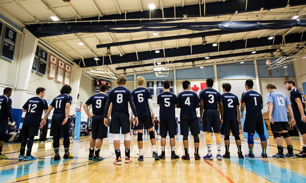 Men's volleyball prevail in four sets against Conestoga