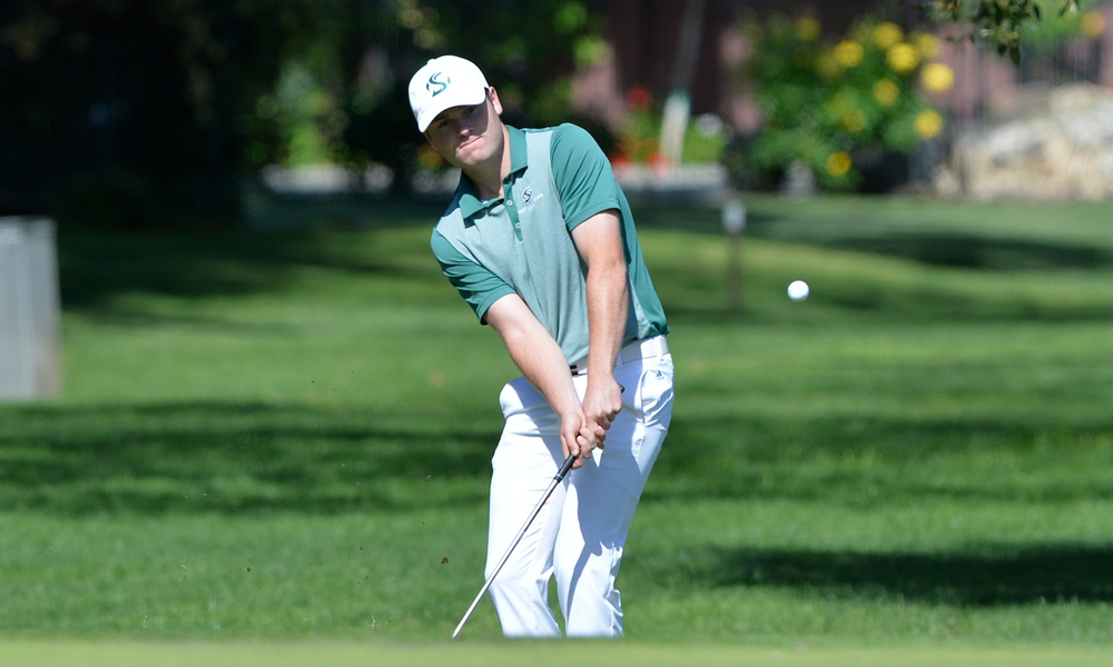 BEVERLY, PARDEN SHOOT 1-OVER TO LEAD MEN'S GOLF AT EL MACERO CLASSIC