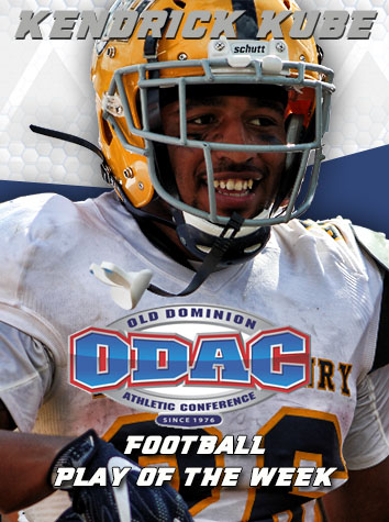 Emory & Henry Wins Season-Opening ODAC Football Play of the Week Fan Poll