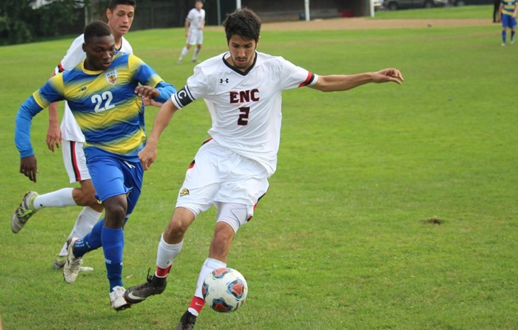 Men's Soccer Handed 4-0 Loss on Homecoming by Western New England