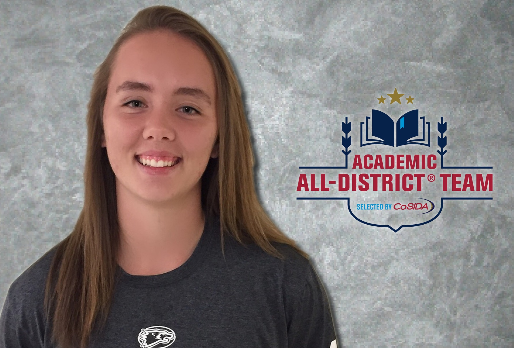 Royer named CoSIDA Academic All-District