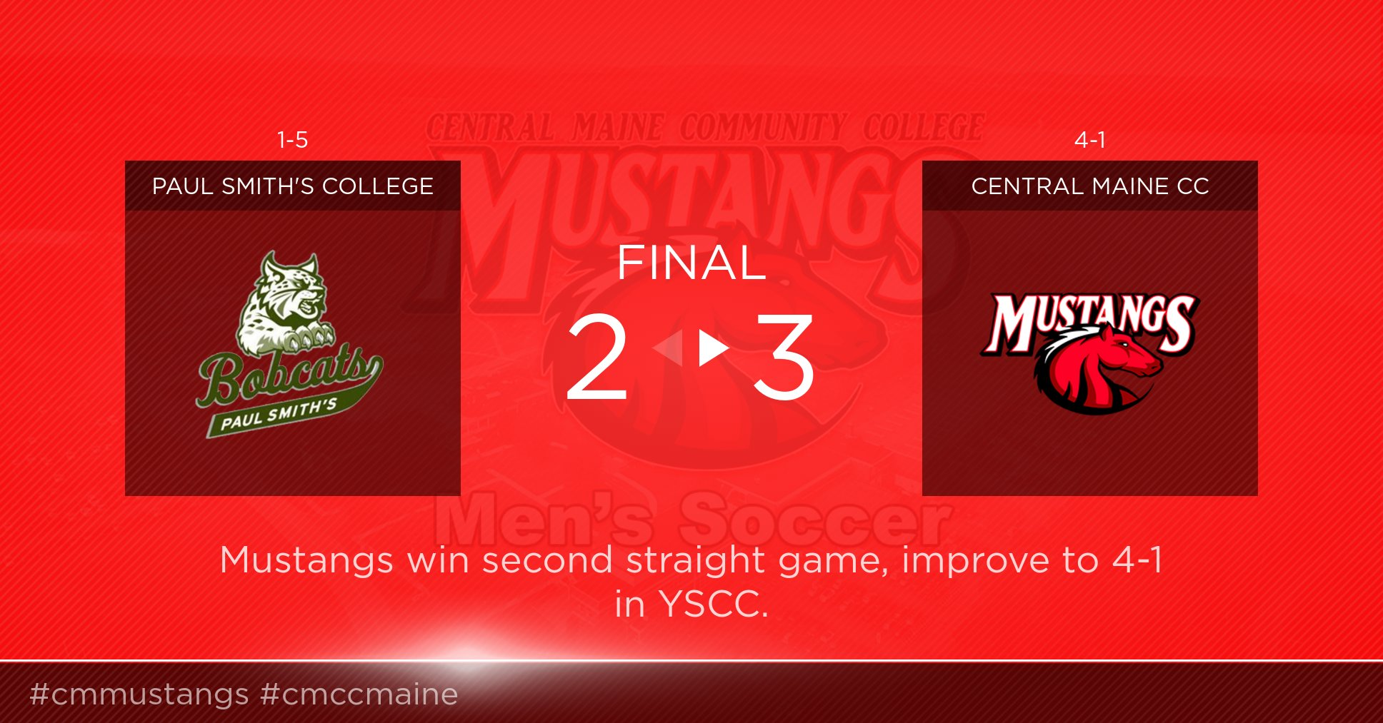Mustangs trample Bobcats in home opener